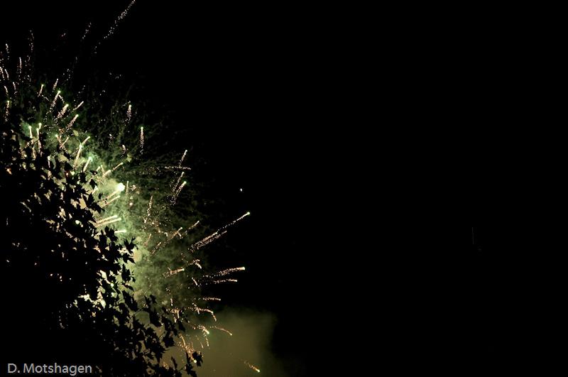 abstract vuurwerk