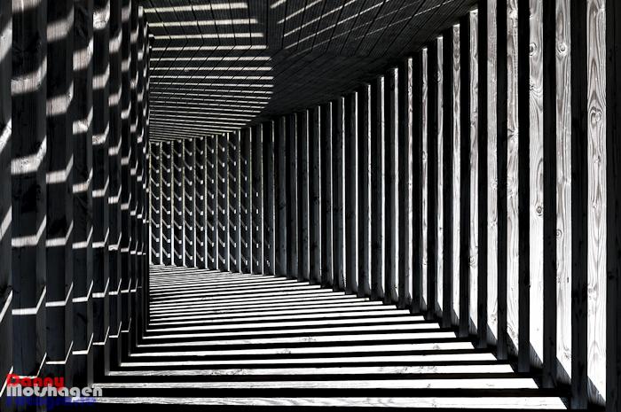 Abstract zwart wit